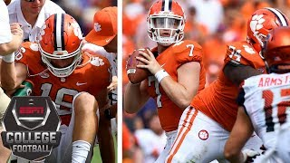 College Football Highlights: Clemson avoids Syracuse upset, QB Trevor Lawrence injured | ESPN