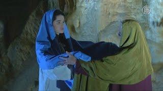 В пещерах Словении показали вертеп и световое шоу (новости)
