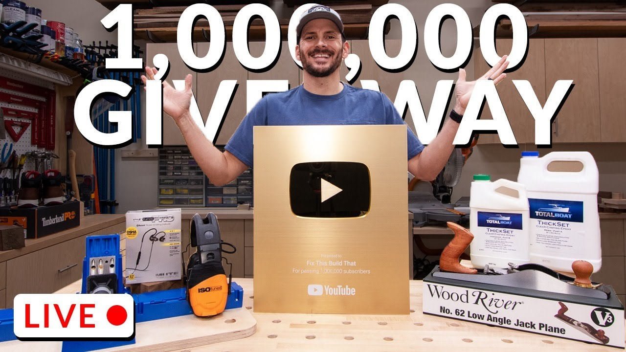 1 Million Sub Livestream & Giveaway! 1/24/21 1pm CST
