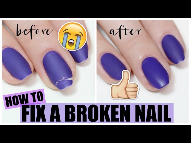 The 4 Best Ways to Fix a Broken Nail - wikiHow