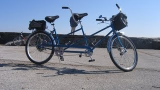 Schwinn Twinn tandem bicycle.