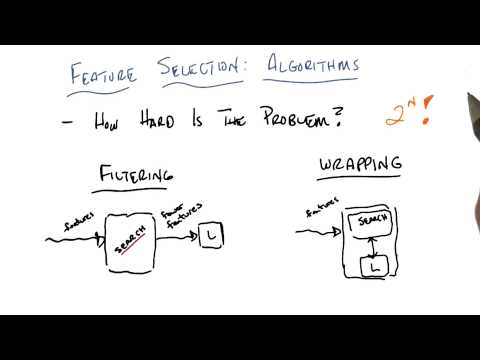 Filtering And Wrapping - Georgia Tech - Machine Learning