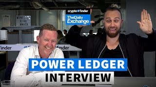 Power Ledger co-founder David Martin gives us a massive update on the project
