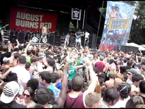 Double circle pit - August Burns Red (ATL Warped Tour '11 ...