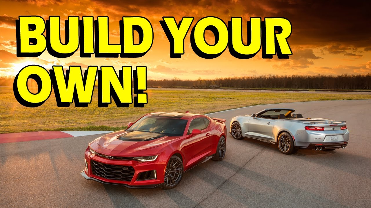 Build Your Own Camaro >> 2017 Camaro Zl1 Build Your Own And Praise The Pricing Car Gods