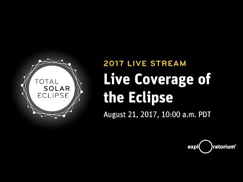 LIVE Total Solar Eclipse 2017 | Telescope and Program from Madras, OR and Casper, WY