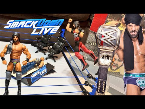 WWE Smackdown main event ring review and reactions - Elite Jinder Mahal is awesome