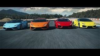 The Huracán model range: Driven by Instinct