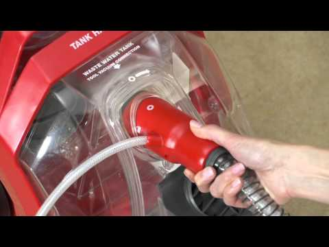 Rug Doctor Deep Carpet Cleaner Cleaning Upholstery Using Hand Tool
