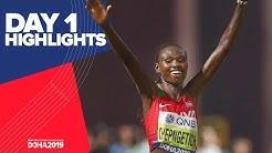 Highlights | World Athletics Championships Doha 2019 | Day 1