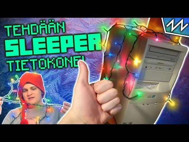 Tehdään Jouluinen Sleeper PC! - Pupun Nörttinurkkaus