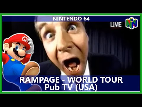 Publicité TV N64 : Rampage - World Tour (Usa)