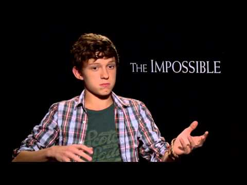Tom Holland's Official 'The Impossible' Interview - Celebs.com Part 1 of 2