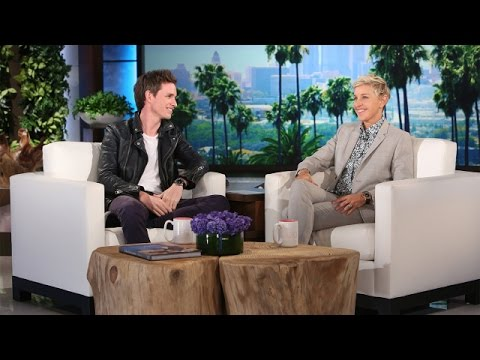 Eddie Redmayne Talks 'tastic Beasts' and Babies