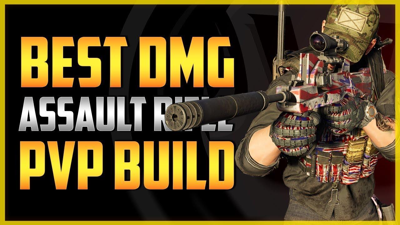 The Division 2 | BEST AR DMG PVP BUILD