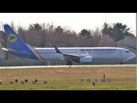 Ukraine International Airlines Boeing 737-8AS UR-PSS PS424 Takeoff At Berlin Tegel Airport