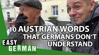 10 Austrian Words that Germans don