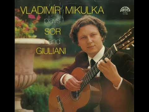 Vladimir MIKULKA Plays SOR and GIULIANI LP 1980