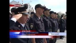 Евпаторийскому батальону внутренних войск МВД России вручили Боевое знамя