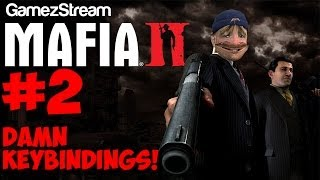 Victrix plays Mafia 2! - #2 DAMN KEYBINDINGS! Thumbnail