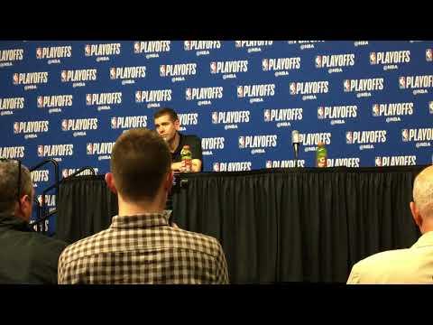 Boston Celtics' Brad Stevens talks Marcus Smart's return, win over Milwaukee Bucks in Game 5