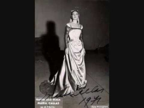 Maria Callas - Sorgete...Lo sognai ferito... - Il Pirata Live New-York 1959