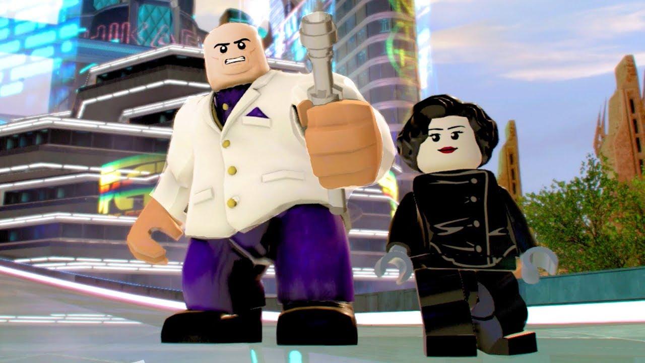 LEGO Marvel Super Heroes 2 Kingpin & Elektra Boss Fight 4k ...