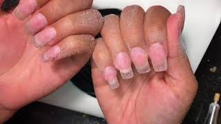 Watch Me Do My Nails | Acrylic Nails Fill