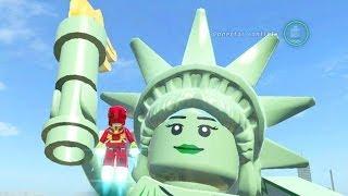 LEGO Marvel Super Heroes: Easter Egg da Estátua da Liberdade & Como Ganhar 1 Milhão no Lego?