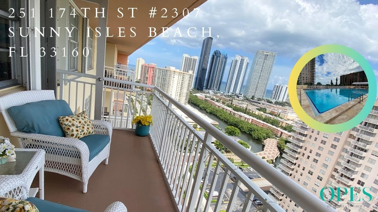251 174th St #2307 For Sale In Sunny Isles Beach