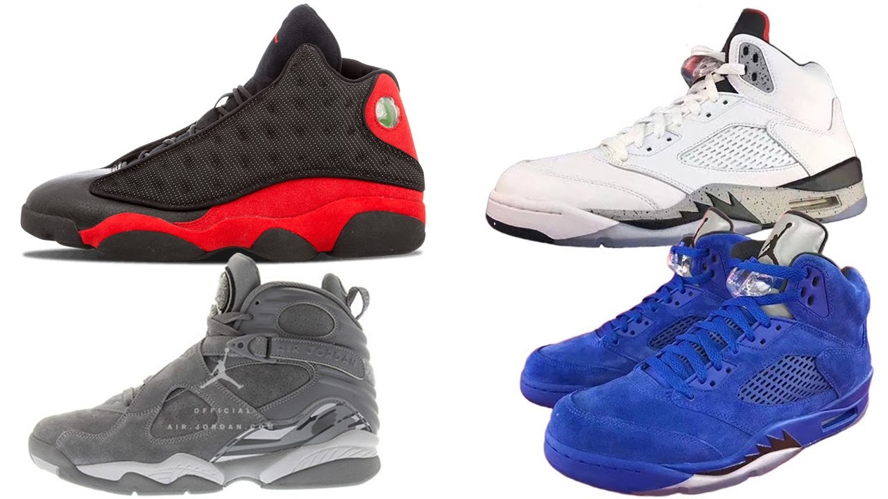 pretty nice e5a9c bba58 Air Jordan 13 BRED Release Date, Jordan 5, Jordan 8 DATES, NEW YEEZY 350  Boost V2 and More