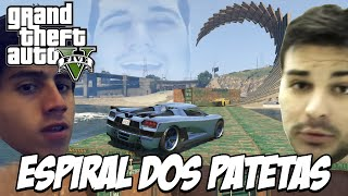GTA V - Espiral dos PATETAS, CROSS vs BRUNO