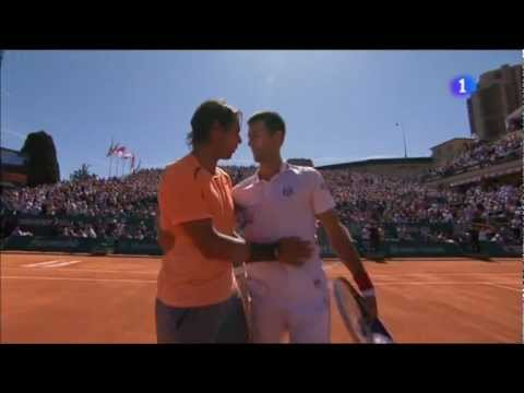 Rafa Nadal vs. Novak Djokovic 6-3 y 6-1 final Montecarlo 2012