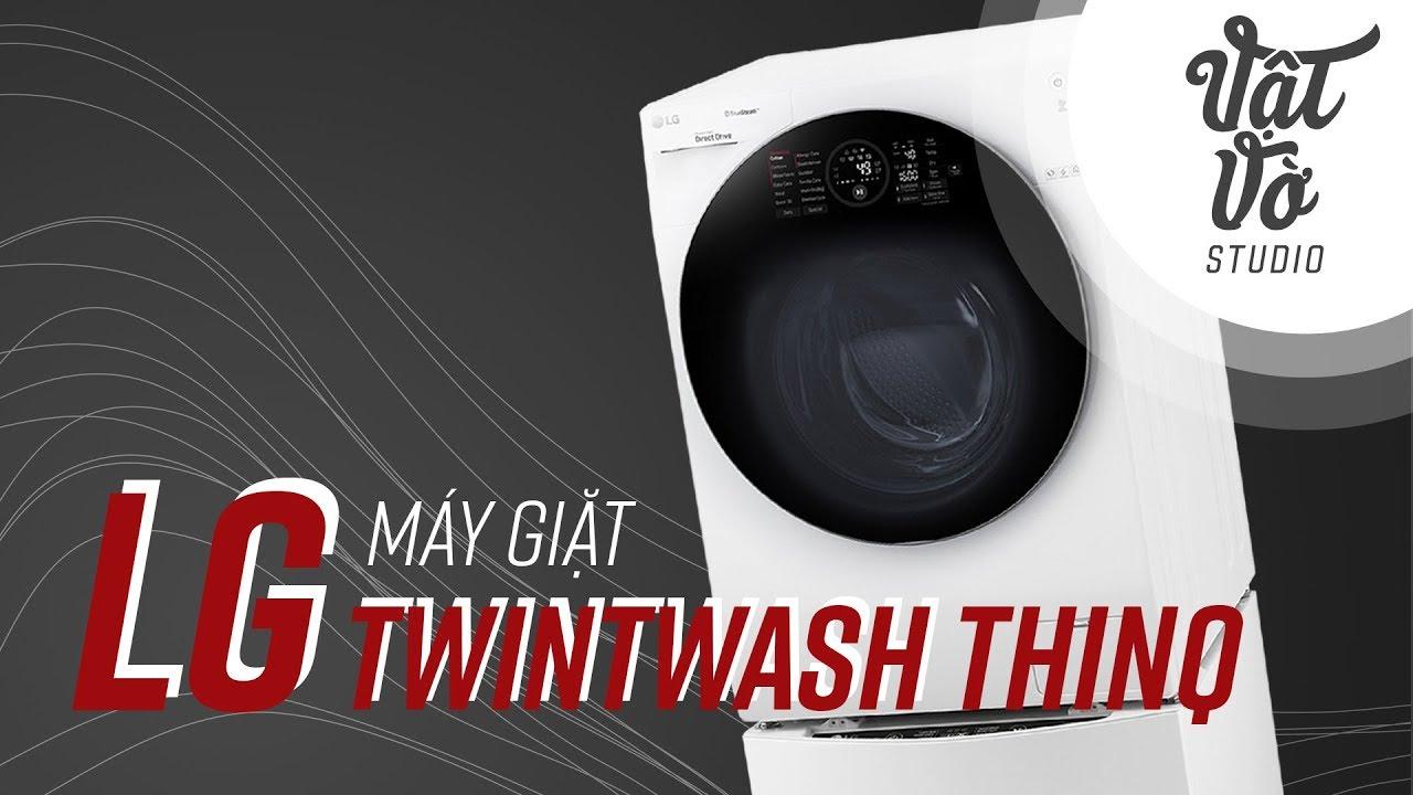 Đánh giá máy giặt thông minh LG TWINwash ThinQ