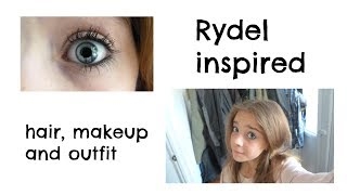 Rydel Lynch makeup, hair and outfit look | Jess Thumbnail