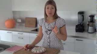 Raw Vegan Marzipan Truffles