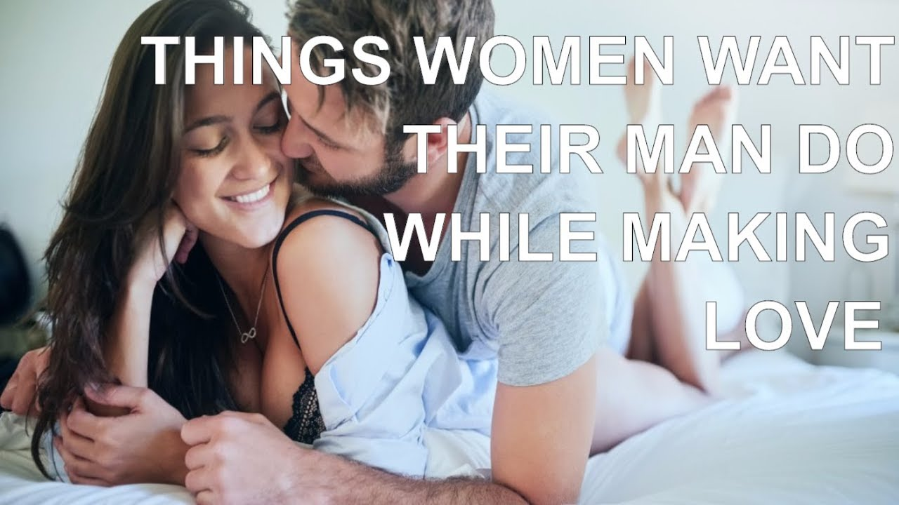 Women making love to men