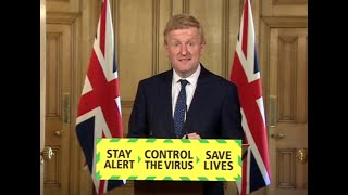 Live: Culture Secretary Oliver Dowden leads the daily government coronavirus briefing   ITV News