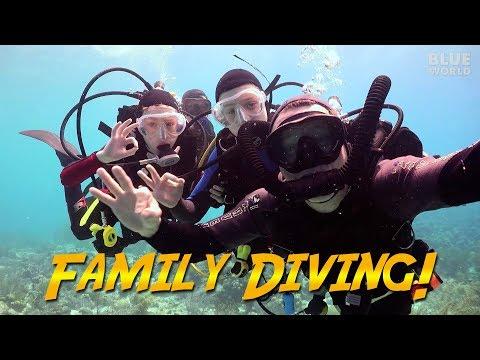 Family Diving in Bonaire | JONATHAN BIRD'S BLUE WORLD