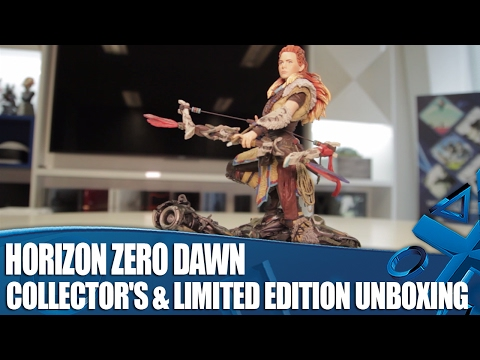 Horizon Zero Dawn - Collector's & Limited Edition Unboxing