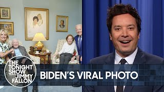 Biden's Viral Photo with Jimmy Carter, Pfizer Vaccine to Be Approved for Kids | The Tonight Show