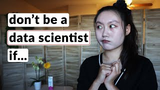 Why you should n๐t be a data scientist