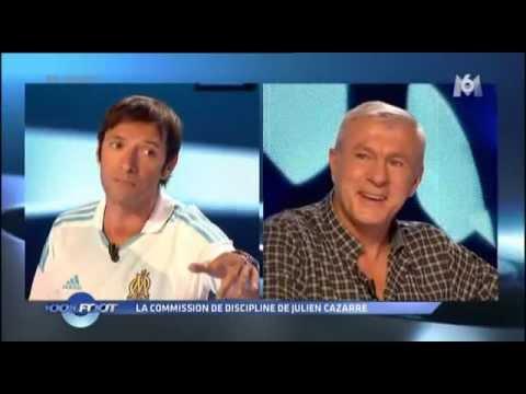 100% Foot - M6 - La commission de discipline - Julien Cazarre - Luis Fernandez