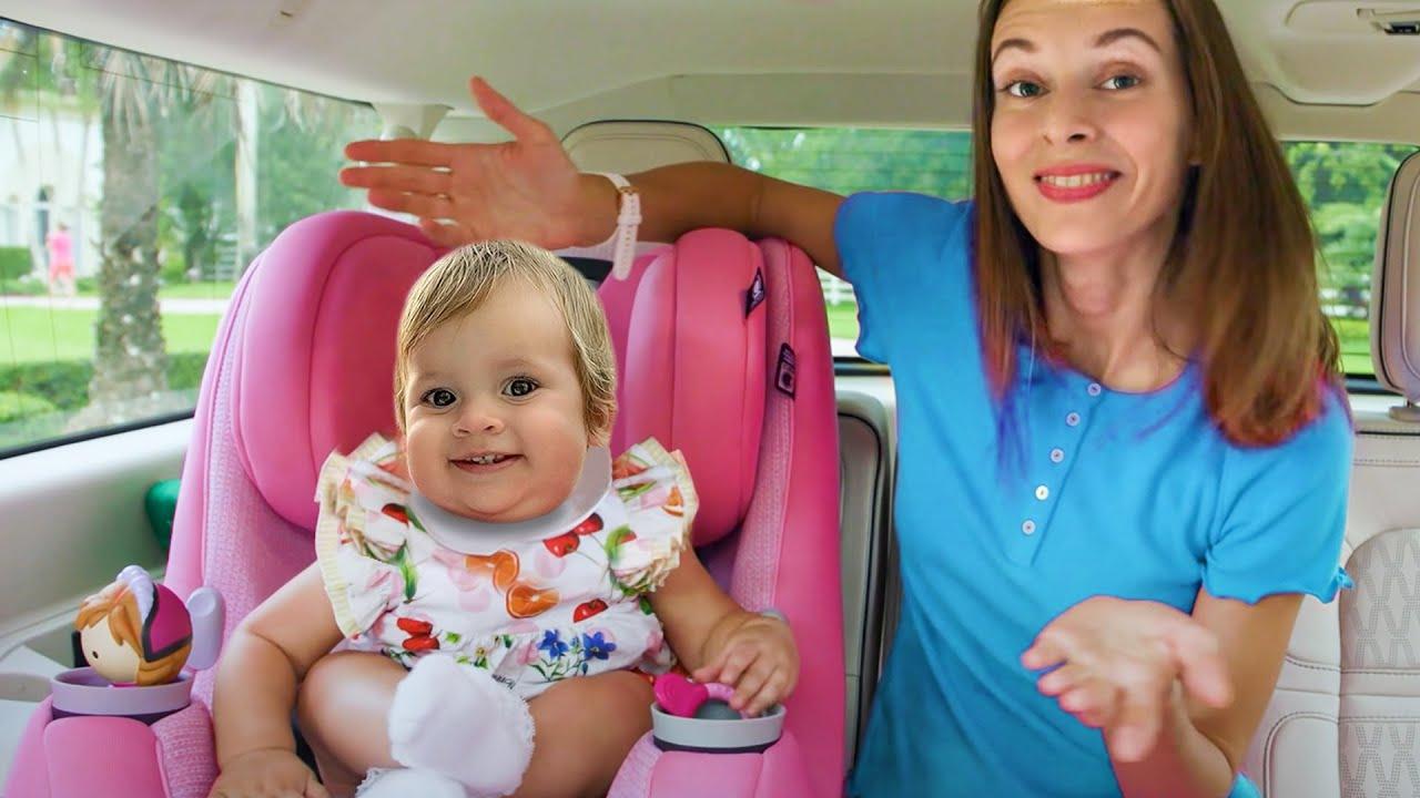 Kids in the car   Kids Songs & Nursery Rhymes   Maya and Mary