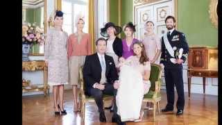 The Christening of Princess Leonore of Sweden - 8th June 2014