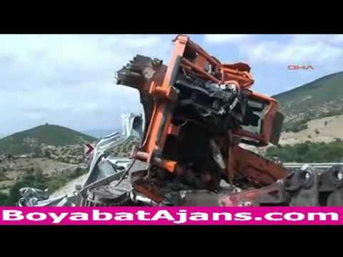Sinop boyabat'ta feci kaza- 7 ölü