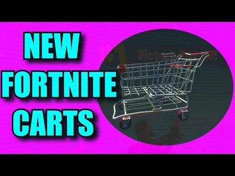 THERE WILL BE SHOPPING CARTS IN FORTNITE!