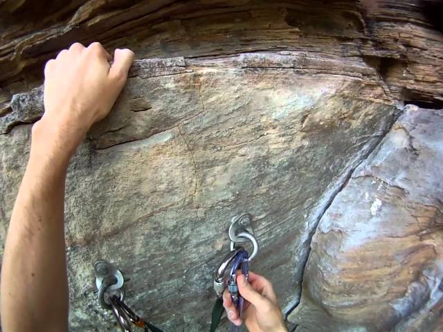 GoPro Rock Climbing at Muir Valley in Red River Gorge