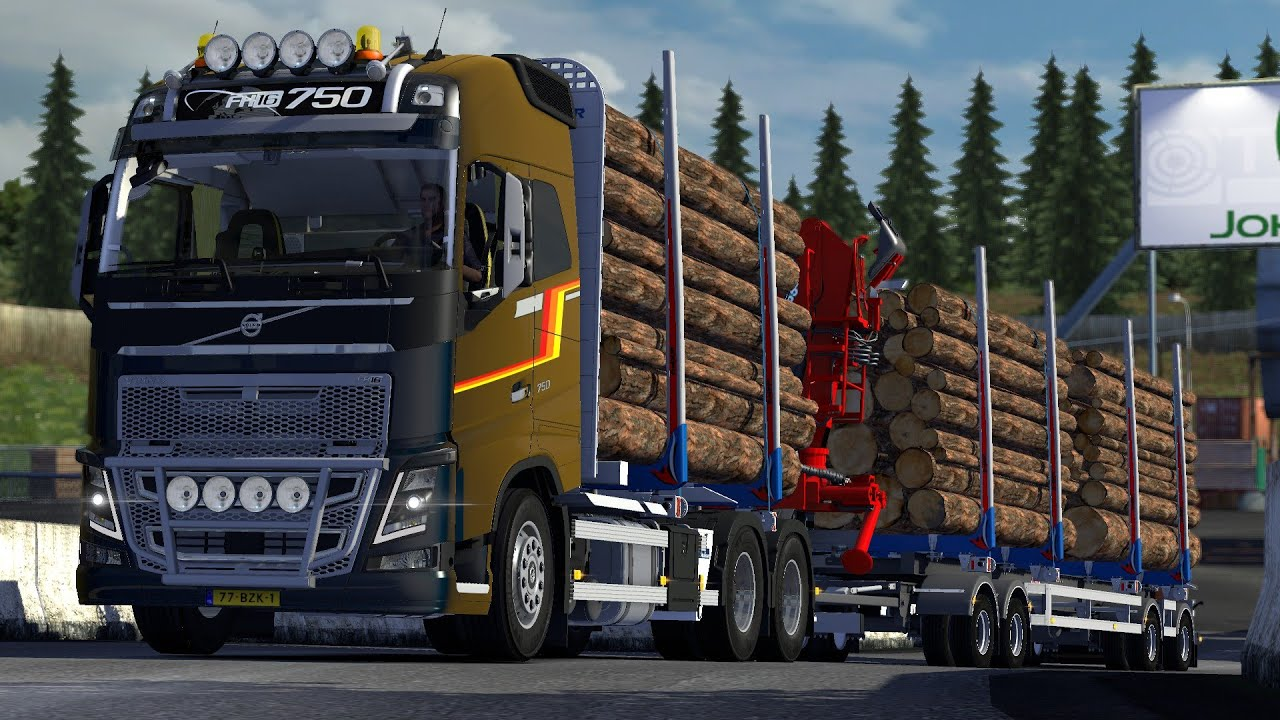 Volvo Fh16 750 Timber Euro Truck Simulator 2 Doovi