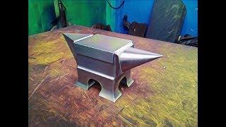 Como se hace un yunque de acero a partir de un rail thumbnail